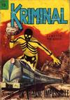 Cover for Kriminal (Editoriale Corno, 1964 series) #12