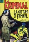 Cover for Kriminal (Editoriale Corno, 1964 series) #8