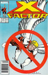 Cover for X-Factor (Marvel, 1986 series) #15 [Newsstand]