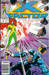 Cover for X-Factor (Marvel, 1986 series) #18 [Newsstand]