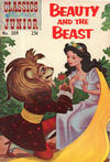 Cover for Classics Illustrated Junior (Gilberton, 1953 series) #509 - Beauty and the Beast [25 cent reprint]