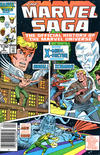 Cover Thumbnail for The Marvel Saga the Official History of the Marvel Universe (1985 series) #5 [Newsstand]