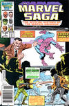 Cover for The Marvel Saga the Official History of the Marvel Universe (Marvel, 1985 series) #7 [Newsstand]