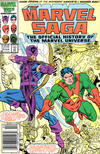 Cover for The Marvel Saga the Official History of the Marvel Universe (Marvel, 1985 series) #15 [Newsstand]