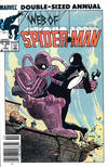 Cover Thumbnail for Web of Spider-Man Annual (1985 series) #1 [Newsstand]