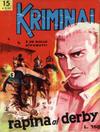 Cover for Kriminal (Editoriale Corno, 1964 series) #15