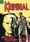 Cover for Kriminal (Editoriale Corno, 1964 series) #16