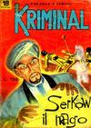 Cover for Kriminal (Editoriale Corno, 1964 series) #18