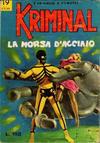 Cover for Kriminal (Editoriale Corno, 1964 series) #19