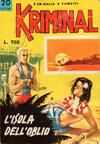 Cover for Kriminal (Editoriale Corno, 1964 series) #20
