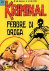 Cover for Kriminal (Editoriale Corno, 1964 series) #26