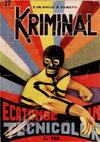 Cover for Kriminal (Editoriale Corno, 1964 series) #27