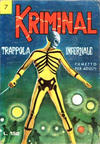 Cover for Kriminal (Editoriale Corno, 1964 series) #7