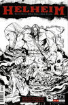 Cover Thumbnail for Helheim (2013 series) #1 [NYCC Black & White Retailer Preview Variant Cover by Joëlle Jones]
