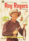 Cover for Roy Rogers Comics (World Distributors, 1951 series) #47