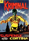 Cover for Kriminal (Editoriale Corno, 1964 series) #32