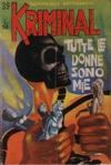 Cover for Kriminal (Editoriale Corno, 1964 series) #39