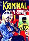 Cover for Kriminal (Editoriale Corno, 1964 series) #45