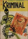 Cover for Kriminal (Editoriale Corno, 1964 series) #47