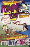 Cover for Tommy og Tigern (Bladkompaniet / Schibsted, 1989 series) #10/2001