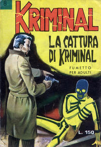 Cover Thumbnail for Kriminal (Editoriale Corno, 1964 series) #8