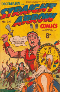 Cover Thumbnail for Straight Arrow Comics (Magazine Management, 1950 series) #24