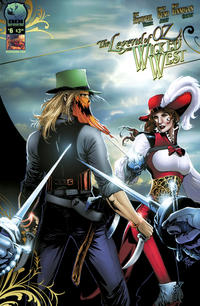 Cover Thumbnail for Legend of Oz: The Wicked West (Big Dog Ink, 2012 series) #6 [Cover A - Carlos Reno]