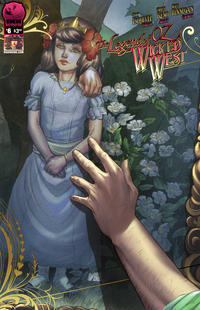 Cover Thumbnail for Legend of Oz: The Wicked West (Big Dog Ink, 2012 series) #6 [Cover B - Nei Ruffino]
