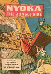 Cover Thumbnail for Nyoka the Jungle Girl (Cleland, 1949 series) #39