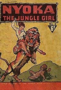 Cover Thumbnail for Nyoka the Jungle Girl (Cleland, 1949 series) #4