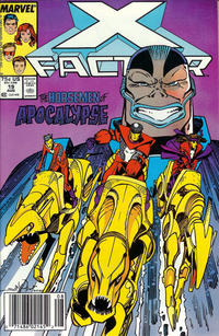 Cover Thumbnail for X-Factor (Marvel, 1986 series) #19 [Newsstand Edition]