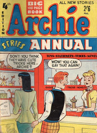 Cover Thumbnail for Archie Annual (H. John Edwards, 1950 ? series) #4