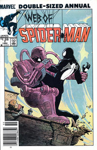 Cover Thumbnail for Web of Spider-Man Annual (Marvel, 1985 series) #1 [Newsstand]