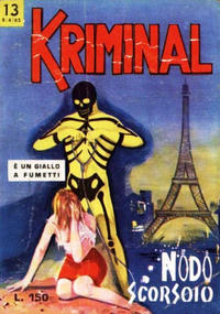 Cover Thumbnail for Kriminal (Editoriale Corno, 1964 series) #13