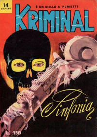 Cover Thumbnail for Kriminal (Editoriale Corno, 1964 series) #14