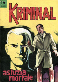 Cover Thumbnail for Kriminal (Editoriale Corno, 1964 series) #16