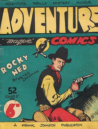 Cover Thumbnail for Adventure (Frank Johnson Publications, 1946 series)