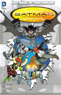 Cover Thumbnail for Batman Incorporated (Panini Deutschland, 2011 series) #3 - Im Einsatz gegen Leviathan