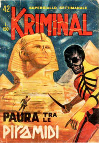 Cover Thumbnail for Kriminal (Editoriale Corno, 1964 series) #42