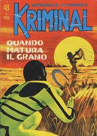 Cover Thumbnail for Kriminal (Editoriale Corno, 1964 series) #48