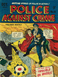 Cover Thumbnail for Police Against Crime (Magazine Management, 1953 series) #14
