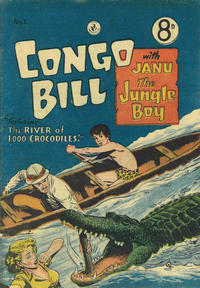 Cover Thumbnail for Congo Bill with Janu the Jungle Boy (K. G. Murray, 1955 series) #1