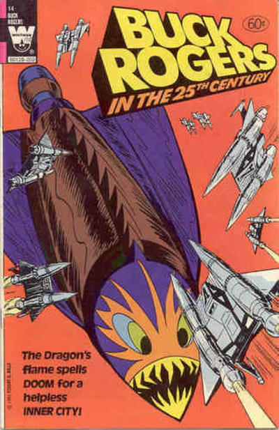 Cover for Buck Rogers in the 25th Century (Western, 1979 series) #14 [White logo]