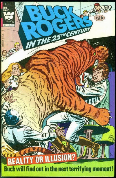 Cover for Buck Rogers in the 25th Century (Western, 1979 series) #15 [Yellow Logo Variant]
