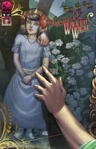 Cover for Legend of Oz: The Wicked West (Big Dog Ink, 2012 series) #6 [Cover A - Carlos Reno]