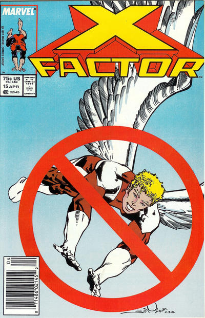Cover for X-Factor (Marvel, 1986 series) #15 [Newsstand Edition]