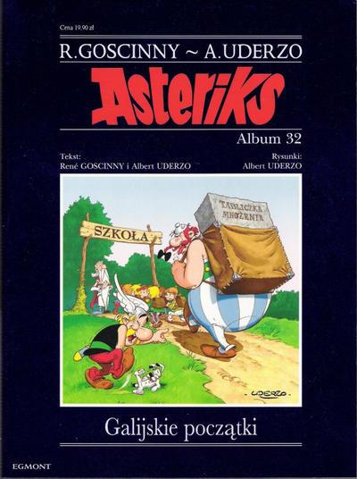 Cover for Asteriks (Egmont Polska, 1997 series) #32 - Galijskie początki