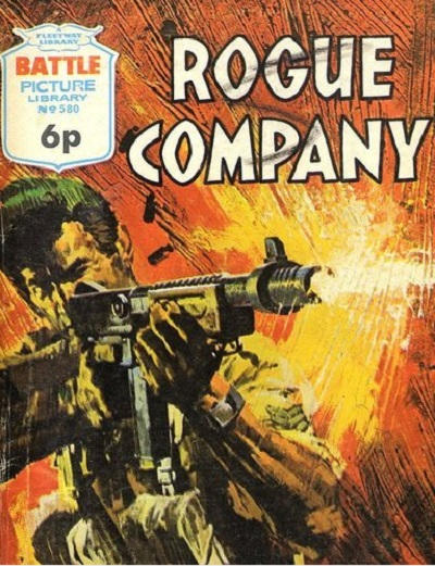 Cover for Battle Picture Library (IPC, 1961 series) #580