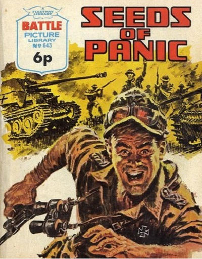 Cover for Battle Picture Library (IPC, 1961 series) #643