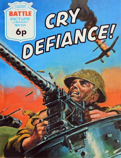 Cover for Battle Picture Library (IPC, 1961 series) #660
